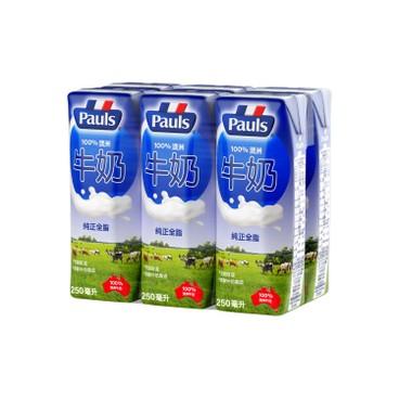 PAULS 保利 - 牛奶 - 250MLX6