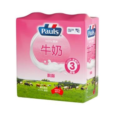 PAULS 保利 - 脫脂奶 - 1LX3