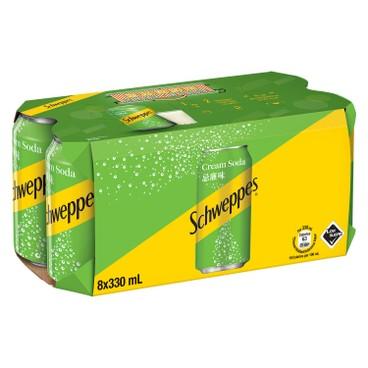 Schweppes - Cream Soda - 330MLX8