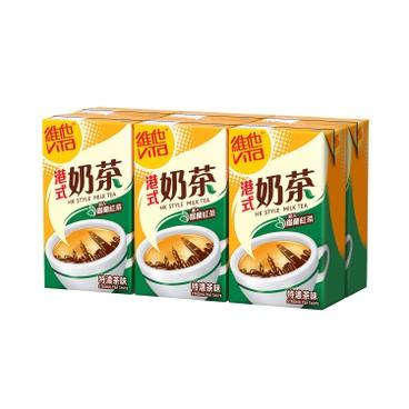 VITA 維他 - 港式奶茶-特濃茶味 - 250MLX6