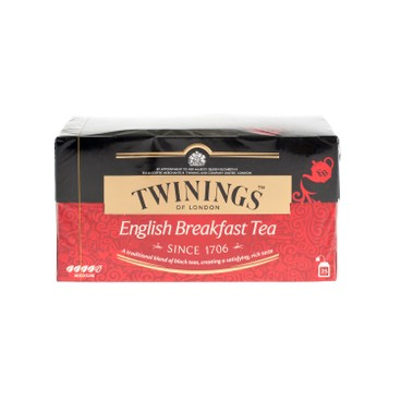 TWININGS - English Breakfast Tea - 25'S