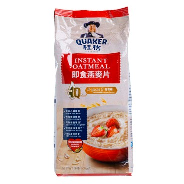 QUAKER - Instant Oatmeal foil - 800G