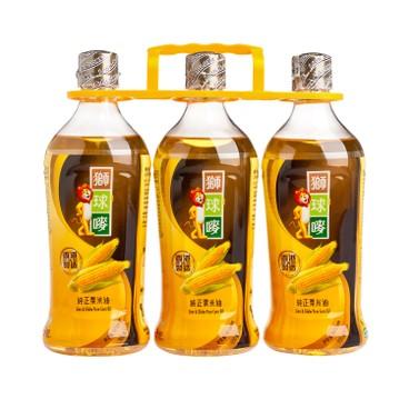 獅球嘜 - 粟米油 - 900MLX3
