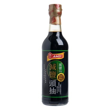 AMOY - First Extract Reduced Salt Soy - 500ML