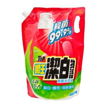 LION TOP - Antibacterial Liquid Detergent Refill floral - 1.8L