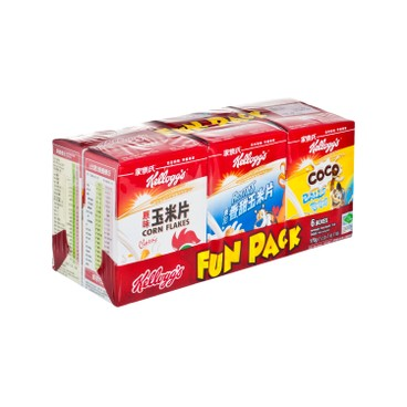 KELLOGG'S - Fun Pack - 6'S