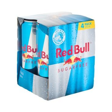 紅牛 - 能量飲品-無糖 - 250MLX4