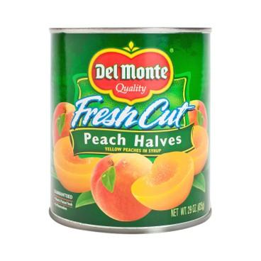 DEL MONTE - Peach Halves Melba In Syrup - 825G