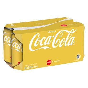 COCA-COLA - Lemon Coke - 330MLX8