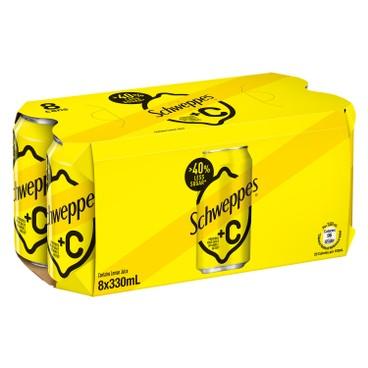 玉泉 - +C檸檬梳打 - 330MLX8