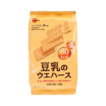 BOURBON 百邦 - 豆乳威化餅 - 2'SX8