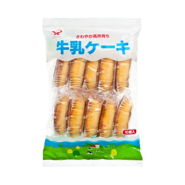 SHIAWASEDO - MILK CAKE - 10'S