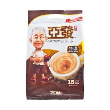 AH HUAT - White Coffee Extra Rich Instant - 40GX15