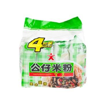 公仔 - 米粉-雪菜味 - 70GX4