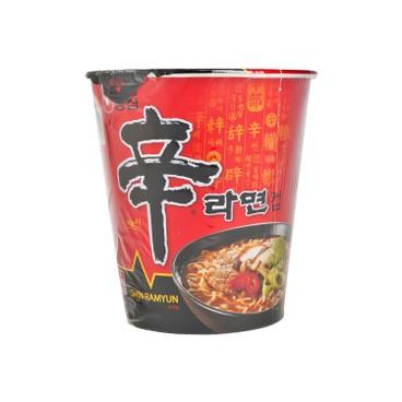 農心 - 杯麵-辛辣麵 (韓國版) - 65G