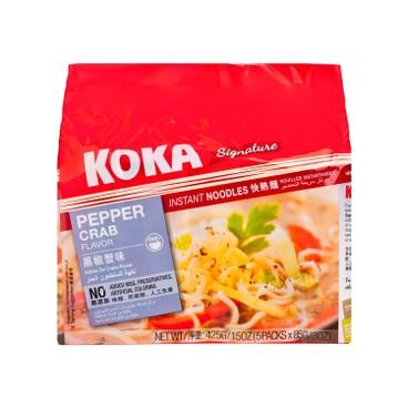 可口 - 黑椒蟹肉湯麵 - 85GX5