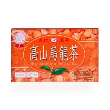TENREN TEA - High Mountain Oolong Teabag - 20'S