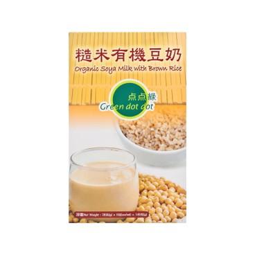 點點綠 - 有機豆奶-糙米 - 28GX5