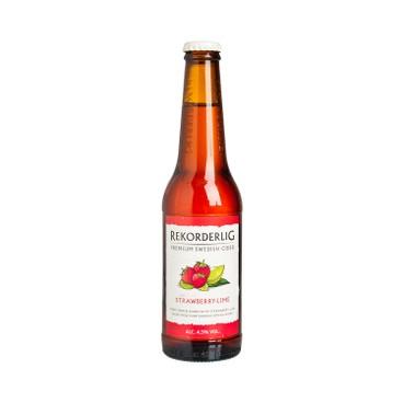 REKORDERLIG - Cider premium Strawberry Lime - 330ML