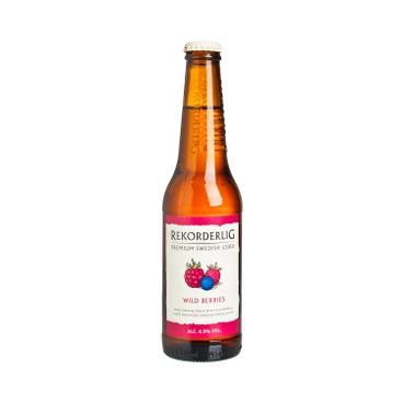 REKORDERLIG - Cider premium Wild Berries - 330ML