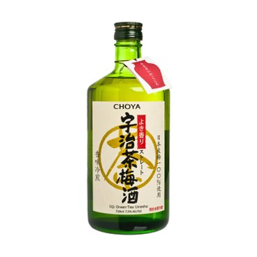 CHOYA - Uji Green Tea Umeshu - 720ML