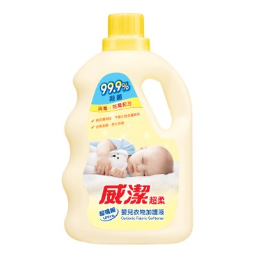 威潔 - 嬰兒衣物柔順劑-恬柔花香 - 800ML