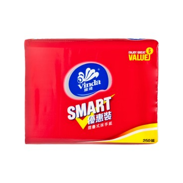 VINDA - Smart M fold Paper Towel - 250'S