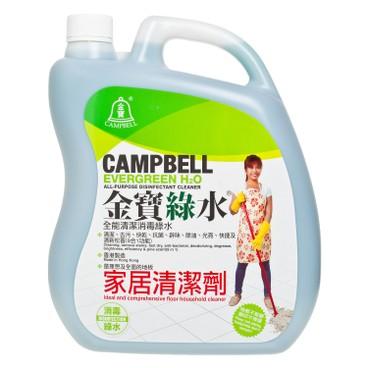 金寶綠水 - 全能消毒清潔劑 - 3.6L