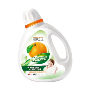 橘子工坊 - 天然濃縮洗衣精-低敏親膚 - 1.8L