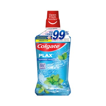 COLGATE - Plax Peppermint mouth Rinse - 1L