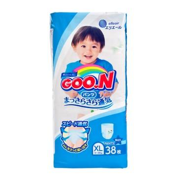 GOO.N大王(香港行貨) - 紙尿褲(男)(加大碼) - 38'S