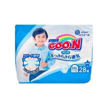 GOO.N大王(香港行貨) - 學習褲(男)(加加大碼) - 28'S
