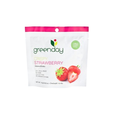 GREENDAY - Crispy Strawberry - 12G