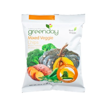 GREENDAY - Mixed Veggie Chips - 35G
