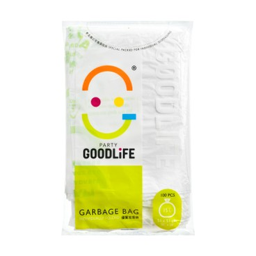 GOODLIFE - 15 l Degradable Garbage Bag - 100'S