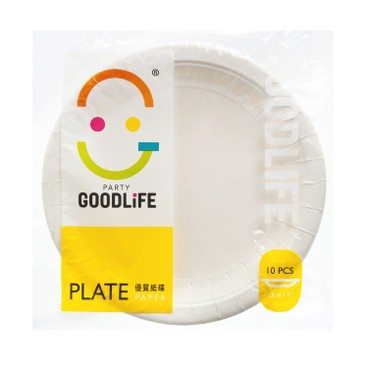 GOODLIFE - 9 Paper Plate - 10'S