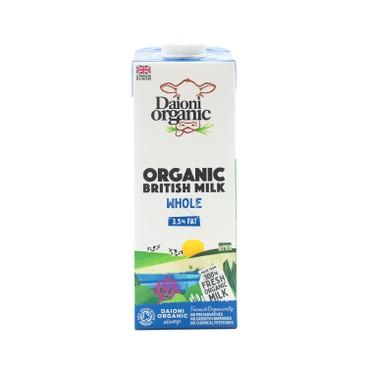 DAIONI 綠牛牛 - 有機全脂奶 - 1L