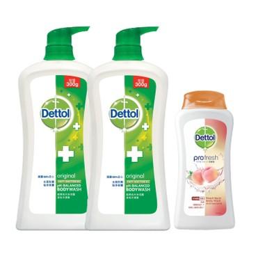 DETTOL - Body Wash twinpack With Random Premium pine - 950MLX2