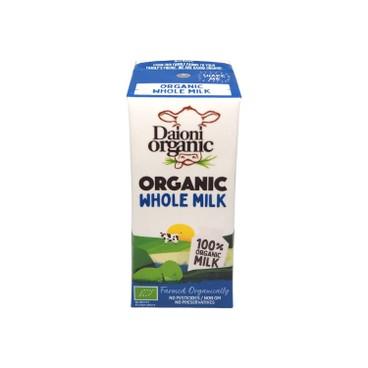 DAIONI 綠牛牛 - 有機全脂奶 - 200ML