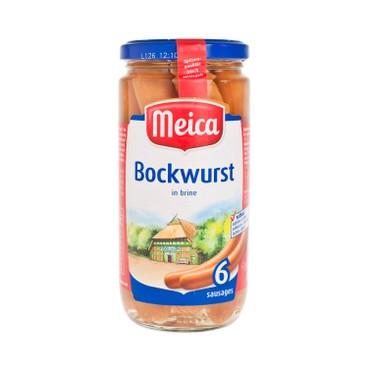MEICA - Bockwurst Sausages - 6'S
