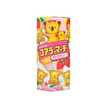 LOTTE - Koalas March strawberry - 37G