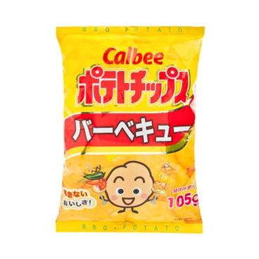 CALBEE - Potato Chips bbq Flavour - 105G