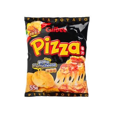 CALBEE - Potato Chips pizza Flavour - 55G