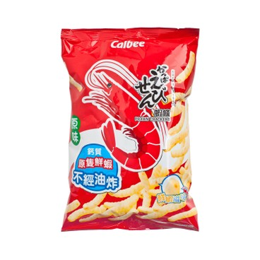 CALBEE - Prawn Crackers original Flavour - 105G