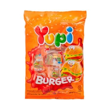 YUPI - 漢堡橡皮糖 - 96G