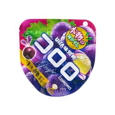 UHA - Cororo Gummy Candy grape - 40G
