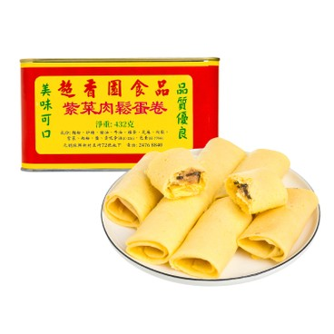 CHIU HEUNG YUEN - SEAWEED AND DRIED MEAT FLOSS ROLLS - 432G
