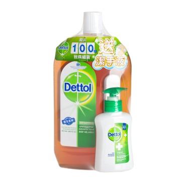滴露 - 消毒藥水-送洗手液 - 1.2L+150G