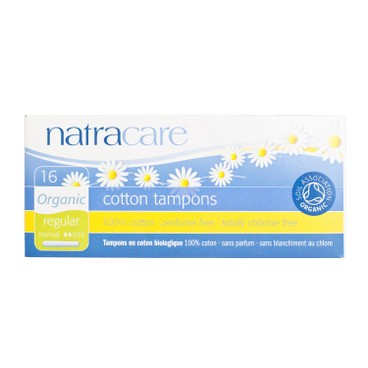 NATRACARE - Tampons With Applicator regular - 16'S