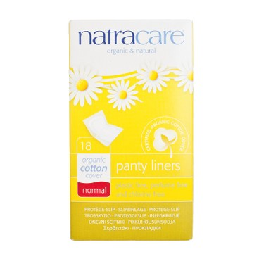 NATRACARE - Panty Liners normal 15 cm Individually Wrapped - 18'S